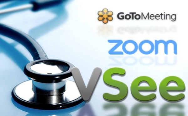 Comparing VSee, Zoom, GoToMeeting for Virtual Doctor Visits