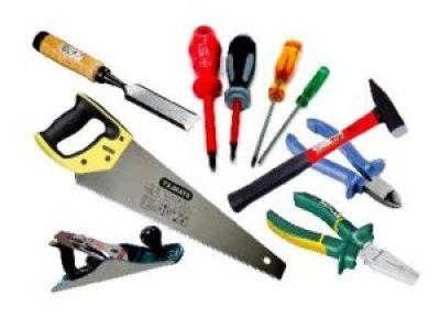 Инструменты для ремонта и строительства.