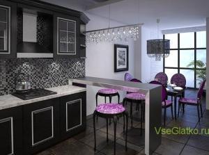 Стиль Арт-деко в интерьере кухни-3