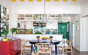 Стиль Эклектика в интерьере кухни-2