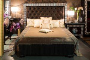 Стиль Фьюжн в интерьере спальной-2