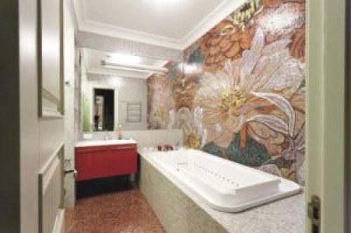 Стиль Фьюжн в интерьере ванной-1