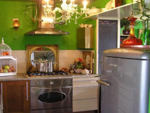 Стиль Китч в интерьере кухни-1