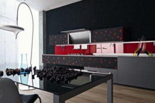 Стиль Хай-тек в интерьере кухни-1