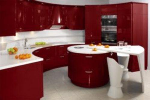 Стиль Модерн в интерьере кухни-1