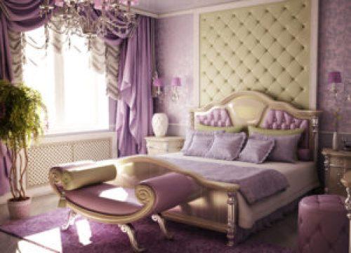 Стиль Модерн в интерьере спальной-1