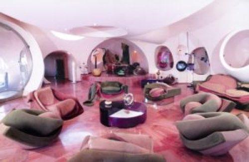 Стиль Сюрреализм в интерьере гостиной-2