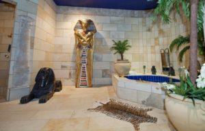 Египетский стиль в интерьере ванной-1