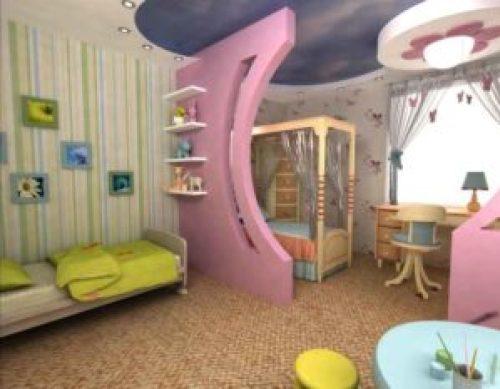 Молодежный стиль в интерьере детской комнаты-2