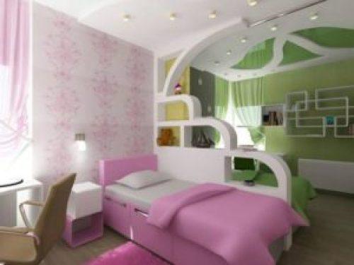 Молодежный стиль в интерьере детской комнаты-7