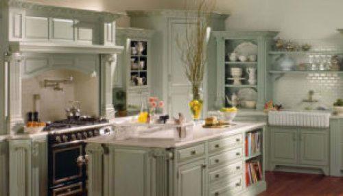Стиль Прованс в интерьере кухни-2