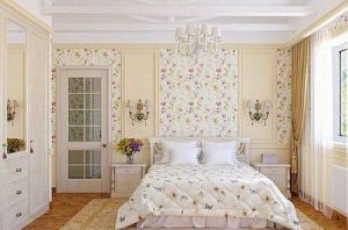 Стиль Прованс в интерьере спальной-1