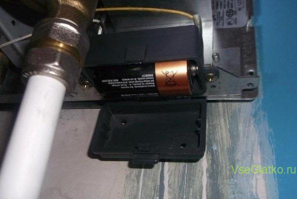 Газовая колонка розжиг от батареек