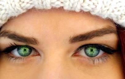 зеленооките жени