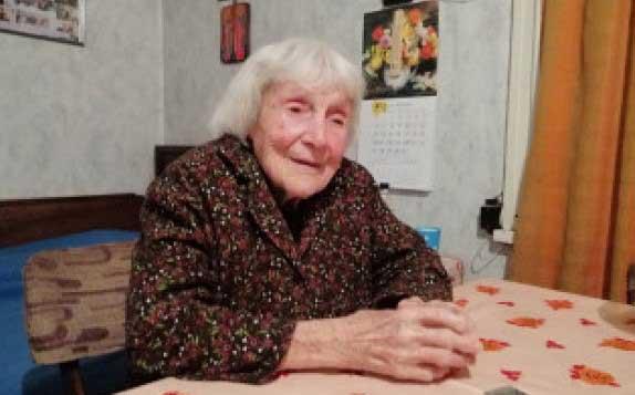 столетницата Радка Минчева