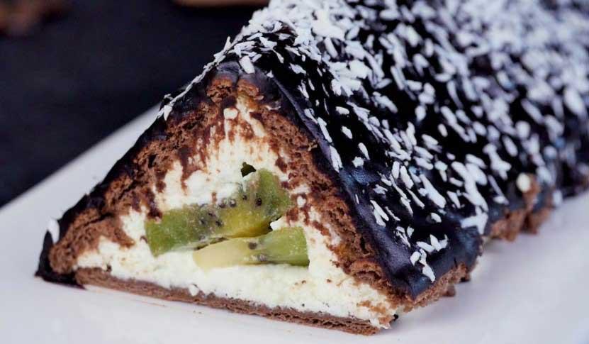 Торта-хижа става лесно