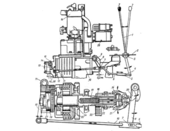 пусковой двигатель