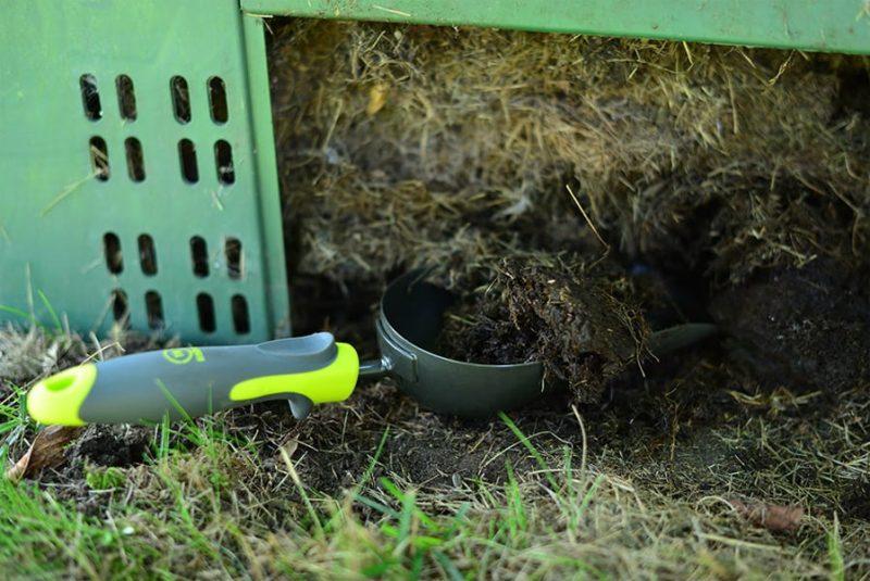 Садовый компост и организация места под удобрение