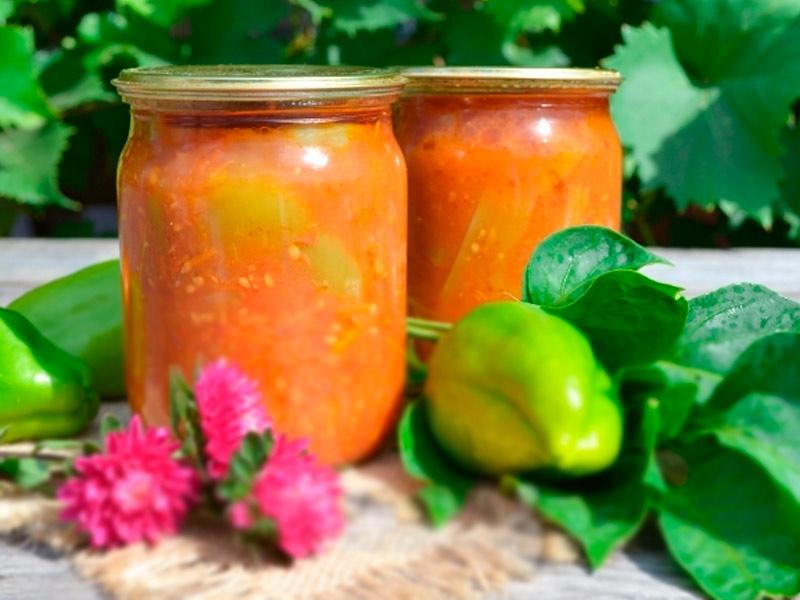 Рецепт лечо с помидорами