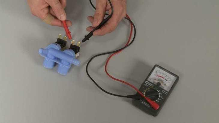 проверка клапана мультимметром