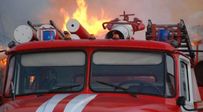 Пожар в поселке Речной унес жизни двух малолетних детей
