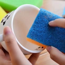 В чем опасность губок для мыться посуды