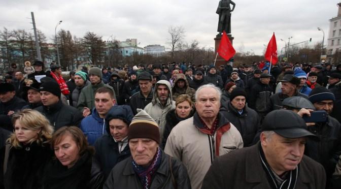 Социологи заявляют о резком росте протестов в России