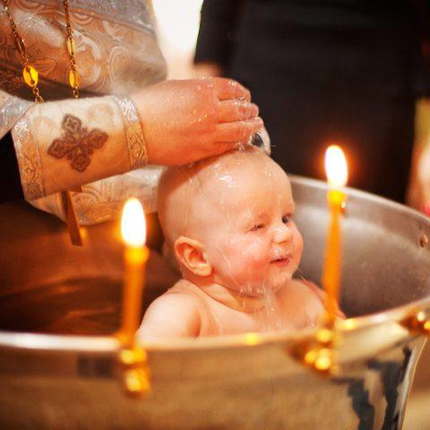 Изменения в правилах крещения детей и взрослых