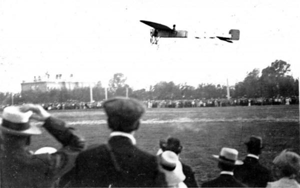 Первый воздушный полет над Вяткой