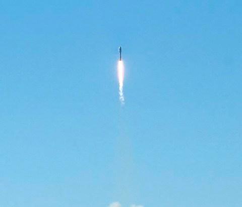 В Кировской области запущена первая в России частная ракета