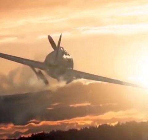 7 августа Виктор Талалихин впервые совершил воздушный таран