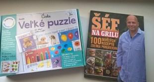 Rýchla súťaž: Recepty pre vás a puzzle pre najmenších