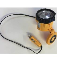 portable lamp with cigarette lighter plug 12 v  [ 980 x 980 Pixel ]
