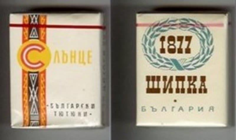 Где купить настоящие болгарские сигареты статистика табачных изделии