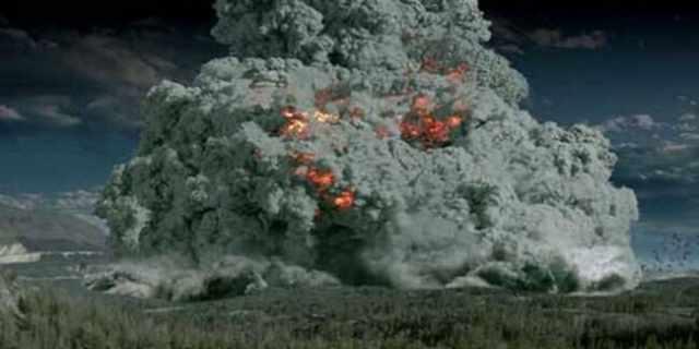 1. Супер-извержение Тоба, 77 000 лет назад.