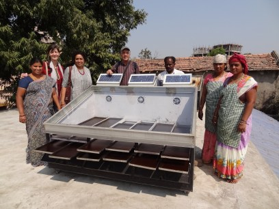 Séchoir solaire - Magan Sangrahalaya