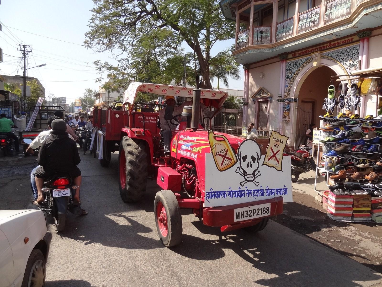 Tracteur Wardha 2016