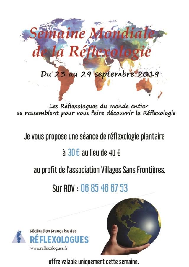 Semaine mondiale réflexologie 2019