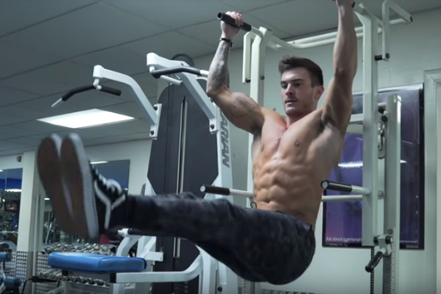 Hanging Leg Raise   6-Pack Exercises To Get You Rock Hard Abs   6 pack workout program