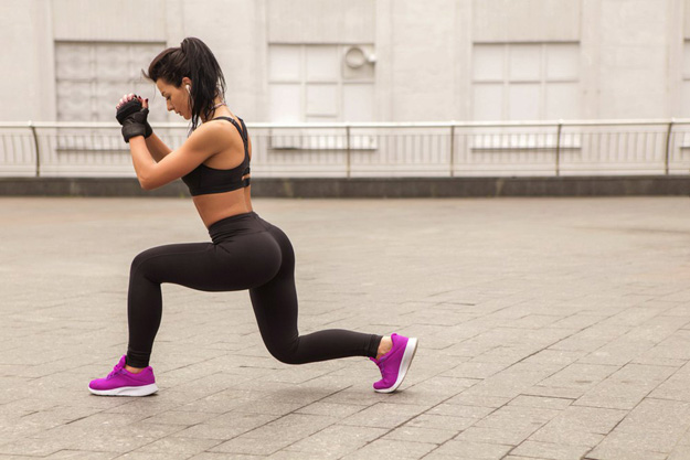 Know Your Basics: How to Do a Lunge   Best Weight Loss Exercises To Shed Fat   workout program