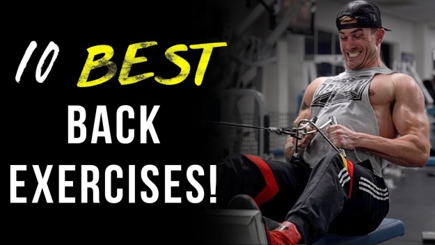 10 Best Back Exercises to Build Muscle | Best Back Workouts For Every Back Muscle