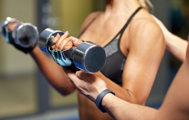 Bicep Curls | Easy Arm Workouts For Slim And Toned Arms | arm workout with dumbbells