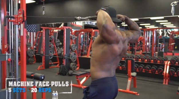 Machine Face Pulls | V Shred's Favorite Trap Workouts