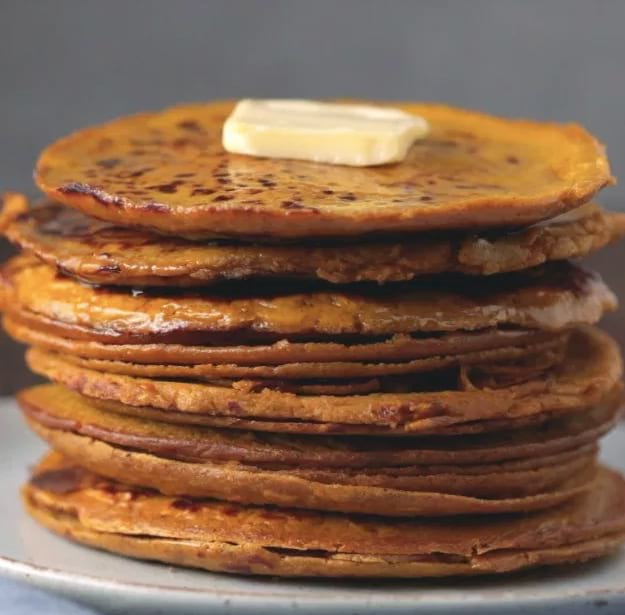 Delicious Pumpkin Pancake   Pumpkin Spice Protein Pancakes