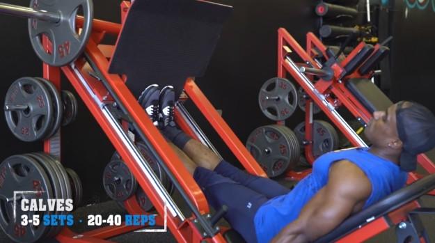 Calves   V Shred's Ultimate Full Leg Workout