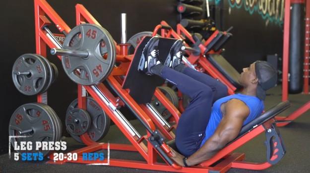 Leg Press | V Shred's Ultimate Full Leg Workout