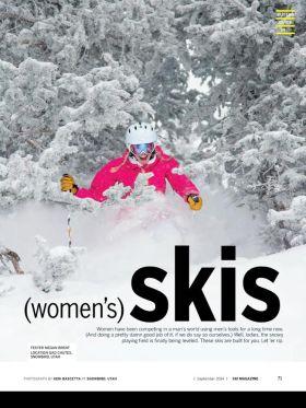 Test vozac: Megan Brent Lokacija: Gad chutes Snowbird, Utah