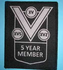 VSOC 5 Year Member Patch