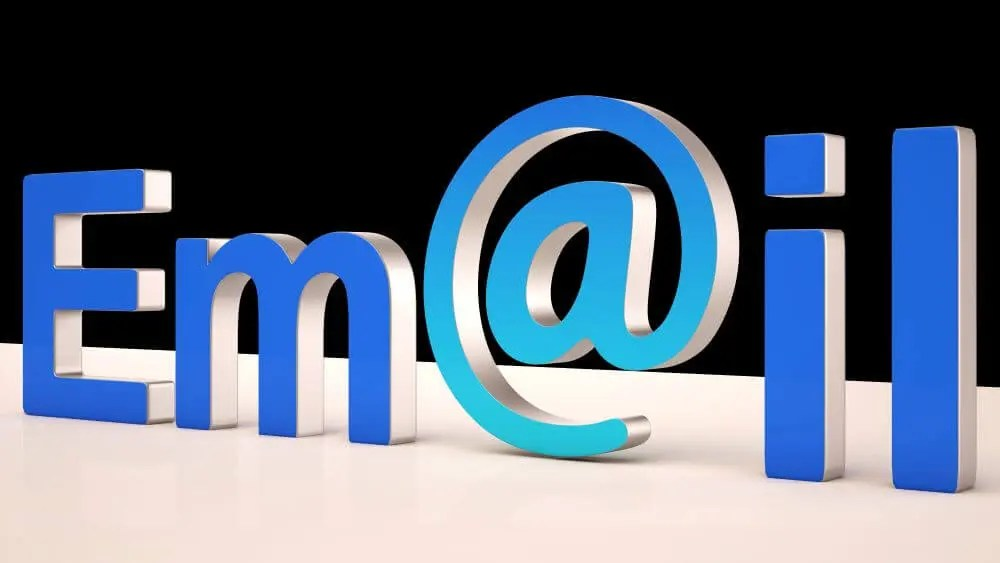 email changes