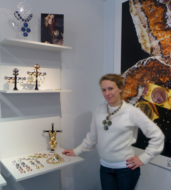 The lovely Charlotte Bonde in her boutique.
